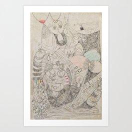 Suck Art Print