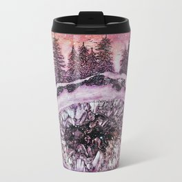 Amethyst Forest Metal Travel Mug