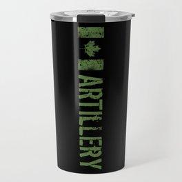 Canadian Artillery Travel Mug