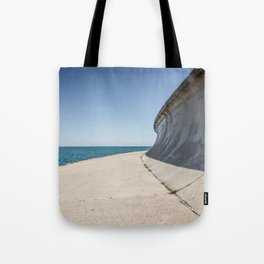 Lakefront Trail Chicago Tote Bag