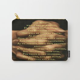 the Lord's prayer Carry-All Pouch