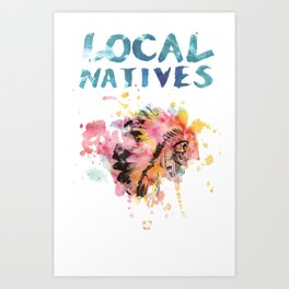 Local Natives Tshirt Art Print