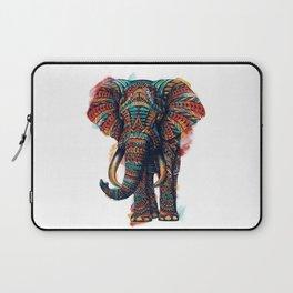 Ornate Elephant (Watercolor) Laptop Sleeve