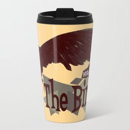 Alfred Hitchcock  |  The Birds Metal Travel Mug