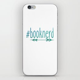#Booknerd iPhone Skin