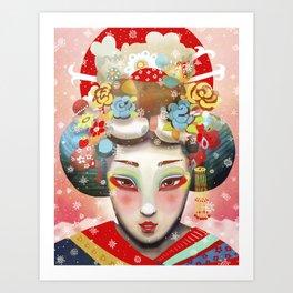 Ocho Inoshika Art Print