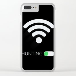 Wifi Hunting Clear iPhone Case