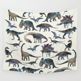 Dinosaurs Pattern Wall Tapestry