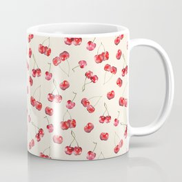Cherry Pattern Coffee Mug