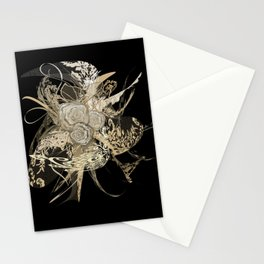 50 Shades of lace Gold Black Stationery Cards
