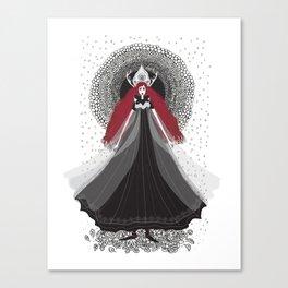 Morena - Slavic Goddess of winter and rebirth of nature Canvas Print
