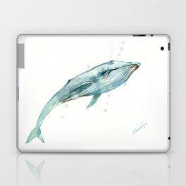 Whale in the OCean Laptop & iPad Skin