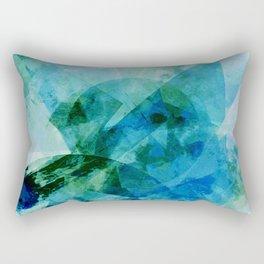 Precipice in Blue I Rectangular Pillow
