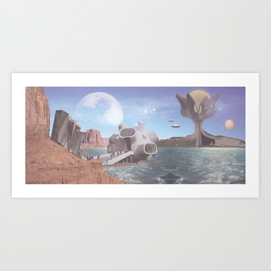PLANET Kruševo III Art Print