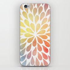Petal Burst #26 iPhone Skin