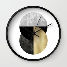 Moon Phase, Mid Century Modern,Scandinavian Abstract Wall Clock