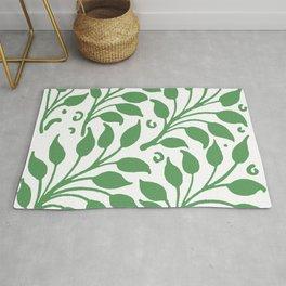 """William De Morgan """"Decorative leafs"""" 3. Rug"""