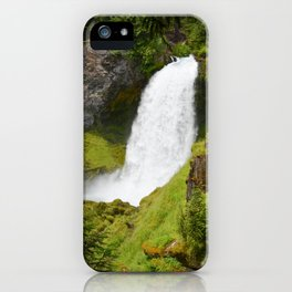 Sahalie Falls Oregon iPhone Case
