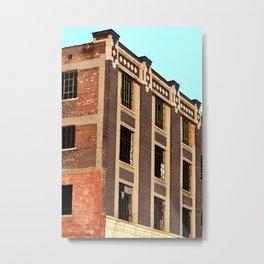 BEAUTIFUL BRICK BUILDING - DETROIT - MICHIGAN Metal Print