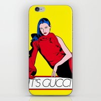 gucci iPhone & iPod Skins featuring Gucci! by Alli Vanes