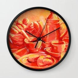 BREAKFAST AT SUNRISE #1 Wall Clock