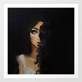 """""""Disintegrate"""" Art Print"""