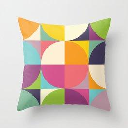 Quarters Quilt 4 Throw Pillow