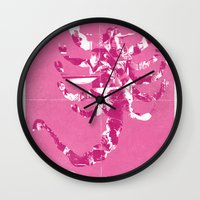 drive Wall Clocks featuring Drive by Bill Pyle
