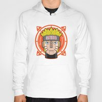 naruto Hoodies featuring Mecha Naruto by Enrique Valles