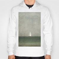 sailing Hoodies featuring Sailing by Honey Malek