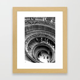 All The Way Down Framed Art Print