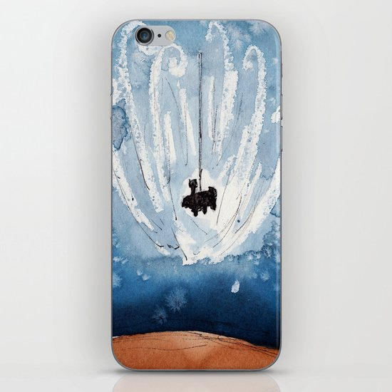 The Landing of Curiosity iPhone & iPod Skin