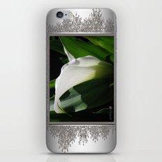 Zantedeschia named Crystal Blush iPhone & iPod Skin