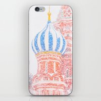 russian iPhone & iPod Skins featuring Russian Winter by digital2real