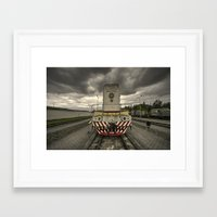 soviet Framed Art Prints featuring Soviet Diesel  by Rob Hawkins Photography