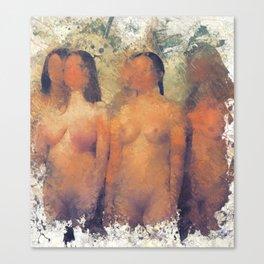 Vestal Virgins Canvas Print