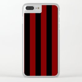 Carnival of Red Clear iPhone Case
