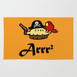Pie Arrr Squared Rug