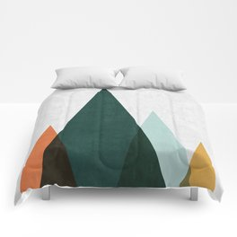 Minimalist Landscape XII Comforters