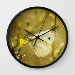 Meadow lifes #8 Wall Clock