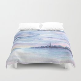 Once Upon Toronto - Skyline Duvet Cover