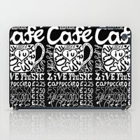 italian iPad Cases featuring Italian Cafe by Geryes