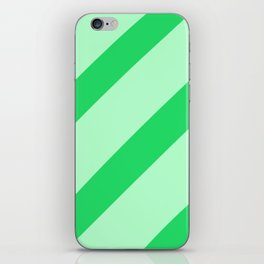 Leaf Stripes iPhone Skin