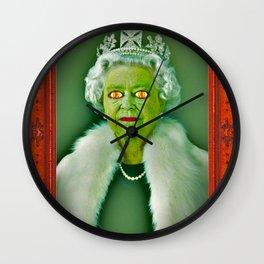 Queen of reptiles Wall Clock