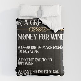 Five Essentials For A Great Life Design for wine lovers Comforters