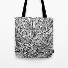 Garden of fine lines Tote Bag
