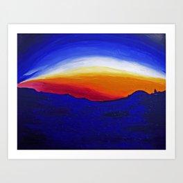 Bernal Hill Abstract | 2011 Art Print