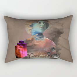 Dreamers in the city Rectangular Pillow