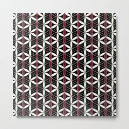 Flower of Life Pattern 10 Metal Print