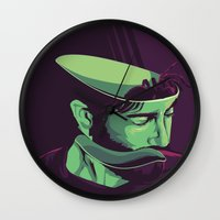 movie poster Wall Clocks featuring Enemy - Alternative movie poster by FourteenLab